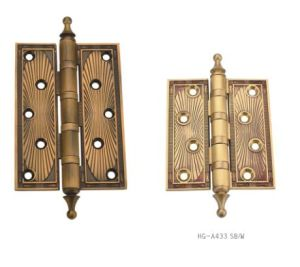 2017 New Style Luxury Brass Hinge (HG-A433 SB/W) pictures & photos