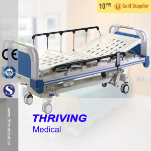 Five Function Electric Hospital Bed (THR-EB601) pictures & photos