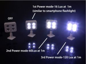 Expansion of Synchronized Rk06 LED Flash Light (OM-RK06) pictures & photos
