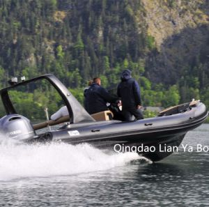Liya 22feet Luxury Rib Boats Speed Boat Yacht Ce Approved pictures & photos