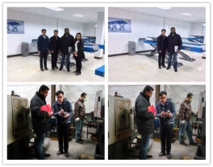 4500kg Thin Alignment Scissor Car Hoist pictures & photos