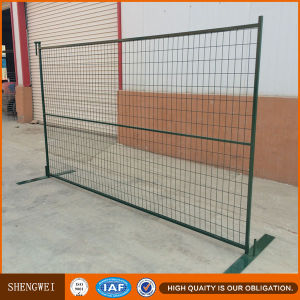Plastic Powder Coated Temporary Movanble Fence pictures & photos