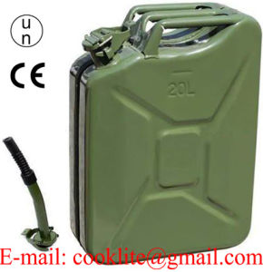 Nato Military Jerry Can 20L Army Metal Steel Liquid Storage Container Green pictures & photos