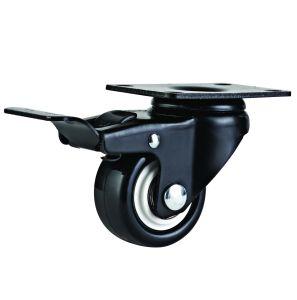 2 1/2 Inch Light Duty PVC Swivel Castor Wheel pictures & photos
