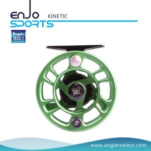 Green CNC Fly Fishing Reel Fishing Tackle with SGS pictures & photos