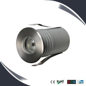 Outdoor Uplight 3W LED Underground Floor Deck Lighting in IP67 pictures & photos