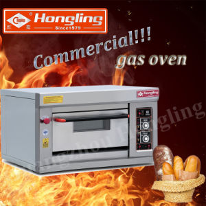 Good Price Single Deck Commercial Gas Bread Oven (HLY-101E) pictures & photos