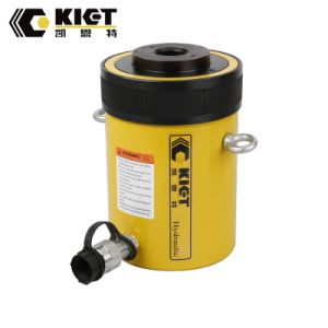 100ton 70MPa Single Acting Hollow Plunger Hydraulic Cylinder pictures & photos