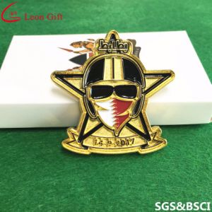 Factory Custom High Quality Gold Metal Lion Club Badgelapel Pins pictures & photos