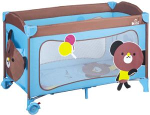 New Design Portable Folding Baby Playpen European Standard Travel Cot pictures & photos