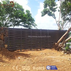 Outdoor Cheap Garden Weave Aluminum WPC Fence Panels for Sale pictures & photos