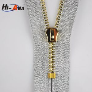 Many Self-Owned Brands High Quality Gun Metal Zipper pictures & photos