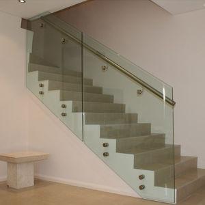 Frameless Glass Railing (PR-02) pictures & photos
