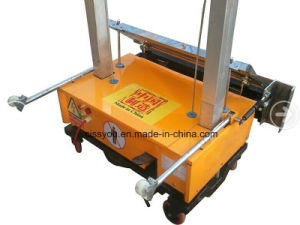 China Miniature Automation Wall Rendering Plastering Render Machine (WSZB) pictures & photos