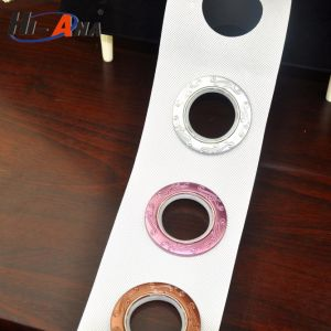 SGS Certification Popular Young Girl Curtain Eyelet Tape pictures & photos