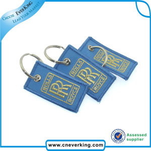 High Quality Promotional Embroidery Keychains pictures & photos