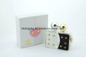 OEM/ODM Luxury Glass Perfume Bottle of Leather Decoration pictures & photos