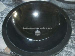 Black Granite Wash Basin for Bathroom pictures & photos
