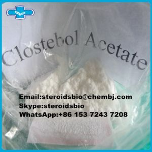 Anabolic Steroid Turinabol Powder Clostebol Acetate for Bodybuilding pictures & photos