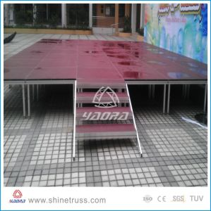 Acrylic Dancing Floor Stage pictures & photos