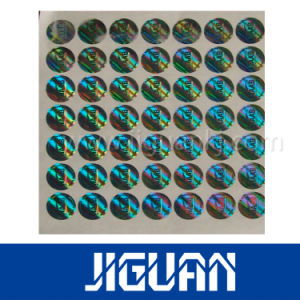 Anti Counterfeit Hot Stamping Laser Holographic Overlays pictures & photos