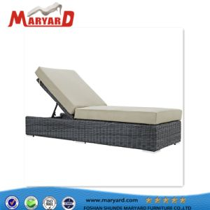 PE Wicker Outdoor Chaise Lounge for Pool pictures & photos