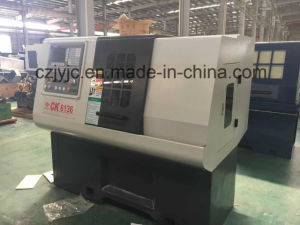 CNC Metal Cutting Lathe Cheap Machine Ck6136 pictures & photos