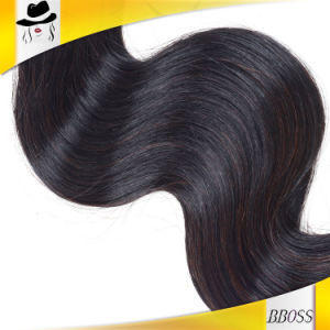 Hair Pieces Peruvian Human Hair Extension pictures & photos