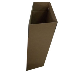 Strong Plain Brown Regular Slotted Glue Corrugated Carton Box pictures & photos