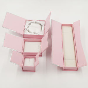 Diamond Jewelry Box with Logo Spot UV (J11-E3) pictures & photos