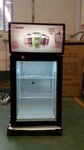 Popular Supermarket Counter Top Display Ice Cream Freezer Mini Chocolate Freezer pictures & photos