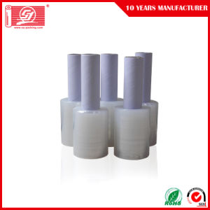 100% Virgin Material Liner Low Density LLDPE Handle Rolls Stretch Film Packing Film pictures & photos