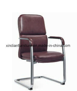 High Back Aluminium Office Swivel Leather Chair pictures & photos