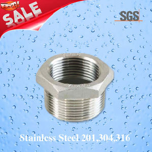 Stainless Steel Hex Bushing, Pipe Fittings Bushing pictures & photos