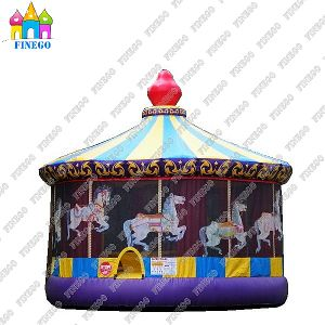 Commercial Carousel Inflatable Bounce House for Sale pictures & photos