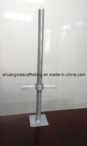 Ringlock Scaffolding Jack Base (solid) pictures & photos