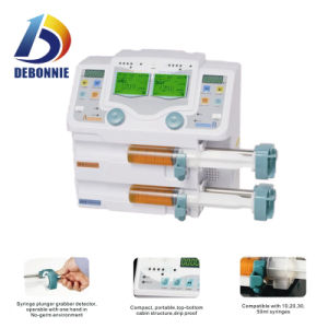 Syringe Pump with Drug Library & Injection Records (Dual Channel)