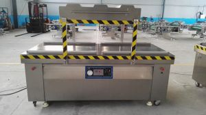 Stainless Steel Customized Double Chamber Fully Automatic Vacuum Packing/Packaging Machine pictures & photos