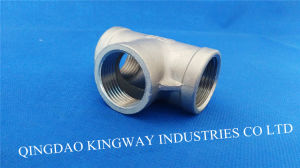 Stainless Steel Threaded Tee (TB) pictures & photos