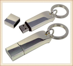 New Metal Keychain Stick Shaped 4GB USB Flash Drive (ED033) pictures & photos