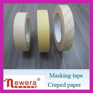 No Residue Crepe Paper Painting Masking Adhesive Tape pictures & photos
