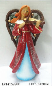 Resin Christmas Gift Fairy Angel Figurine Garden Decoration pictures & photos