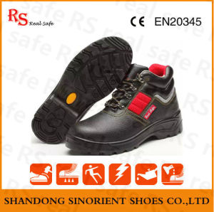 Safety Shoes Type and Leather Upper Material Mining Safety Boots pictures & photos
