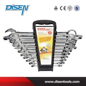 ANSI 20PS (6-27mm) Plastic Clip Chrome Plated Combination Wrench pictures & photos
