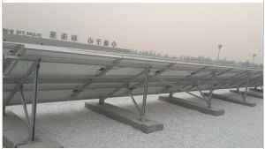 Cement Roof Photovoltaic Support System pictures & photos