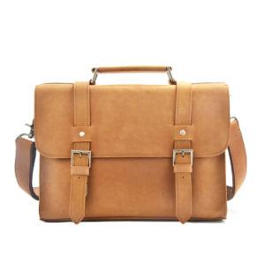 Handmade Good Quality Men Designer Leather Messenger Bags pictures & photos