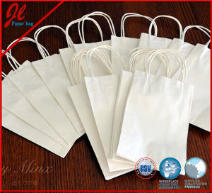 Pruple Paper Craft Bags with Handle pictures & photos