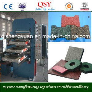 Rubber Mats Making Curing Press Machine pictures & photos