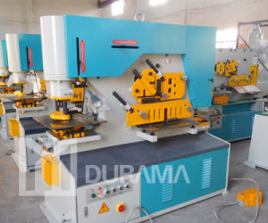 Q35y Hydraulic Combined Punching Shearing Bending Cutting Machine pictures & photos