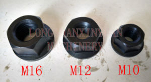 Deluxe Steel High Hardness Flange Nut pictures & photos